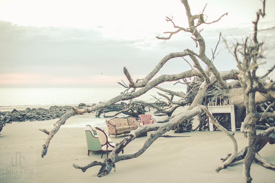 Vintage Beach Wedding Rentals