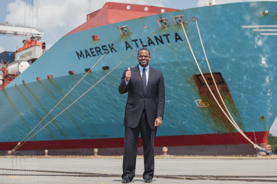 Mayor of Atlanta at GA Ports Authority